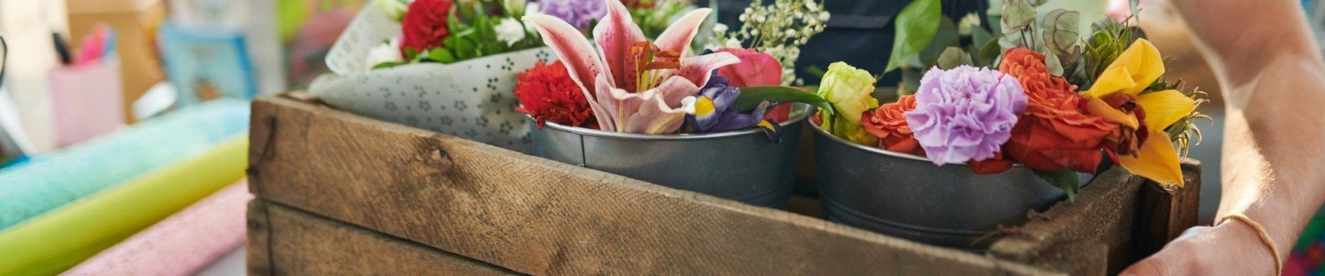 Skicka blommor i Skåne